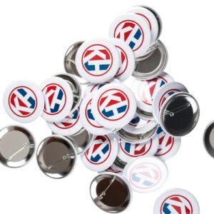 Bestill dine egne Buttons